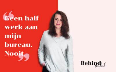Vormgever Janon over haar extreme perfectionisme: 'Als ik er niet tevreden mee ben, komt het niet in mijn portfolio'